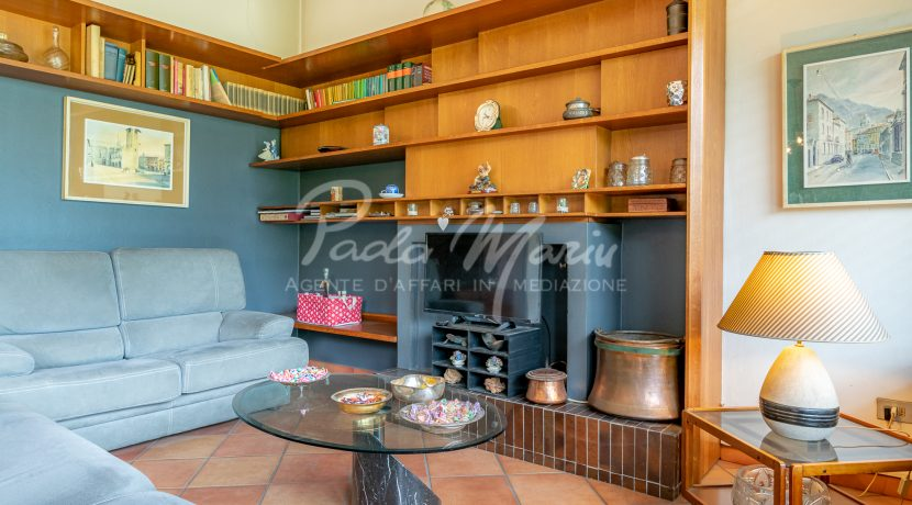 Villa bifamiliare con giardino Como (120)